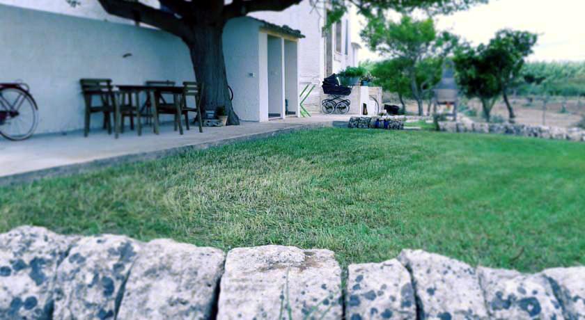 Trawnik przy domu