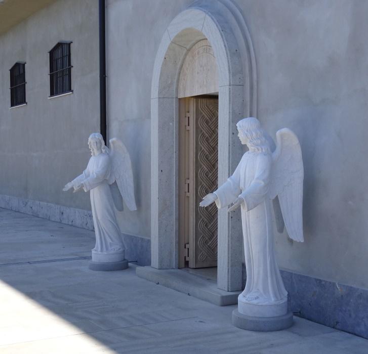 Wejście do dawnego sanktuarium