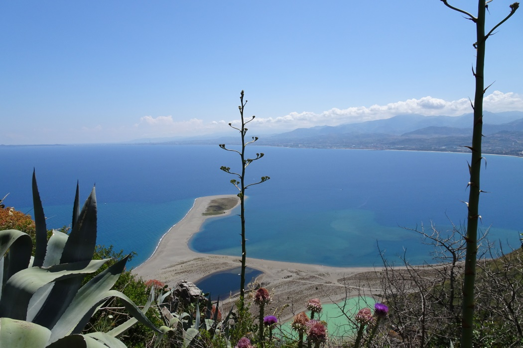 Widok na lagunę